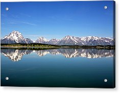 Acrylic Print featuring the photograph Purple Mountains Majesty by Sue Collura
