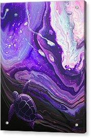 Purple Munchkin Acrylic Print