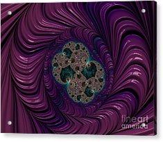 Purple People Eater. Acrylic Print