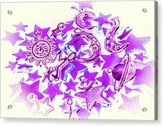 Purple Planetarium Acrylic Print