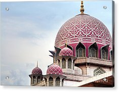 Putra Mosque Is The Principal Mosque Of Acrylic Print