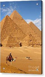 Pyramid Egypt Acrylic Print