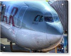 Qatari Airlines Boeing 777-300er Acrylic Print