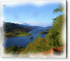 Queens View Painting Acrylic Print