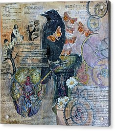 Quoth The Raven Acrylic Print