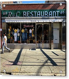 R And L Restaurant Acrylic Print