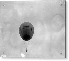 Racing Balloon Acrylic Print by Fox Photos