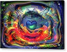 Radiating Love Acrylic Print