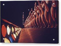 Radio City Music Hall Rockettes Acrylic Print by Art Rickerby
