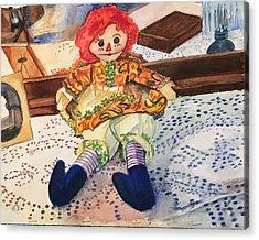 Raggedy Annie Acrylic Print