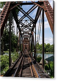 Railroad Bridge 6th Street Augusta Ga 1 Acrylic Print