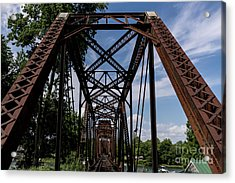 Railroad Bridge 6th Street Augusta Ga 2 Acrylic Print
