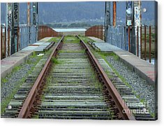 Railroad Lines Acrylic Print