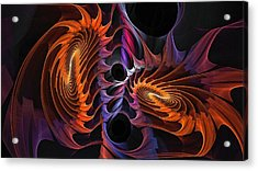 Rainbow Incursion Acrylic Print