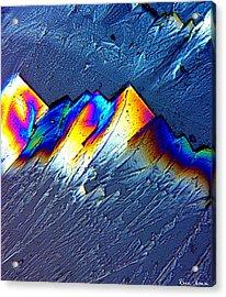 Rainbow Mountains Acrylic Print