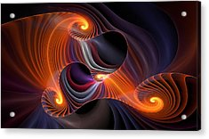 Rainbow Symphony-2 Acrylic Print