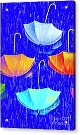 Rainy Day Parade Acrylic Print