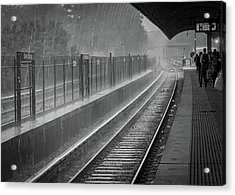 Rainy Days And Metro Acrylic Print