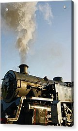 Ramsbottom. East Lancashire Railway. Locomotive 80080. Acrylic Print