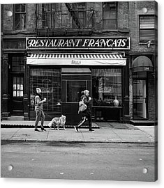 Raoul's In Black And White Acrylic Print