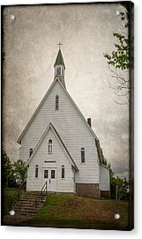 Raquette Lake Chapel Acrylic Print