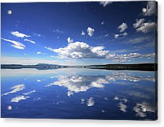 Real Illusions Reflections Acrylic Print by Philippe Sainte-laudy Photography