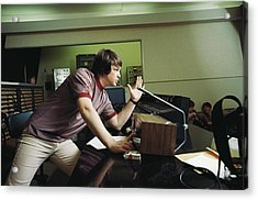 Recording Pet Sounds Acrylic Print by Michael Ochs Archives