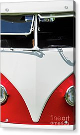 Red And White Acrylic Print