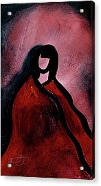 Red Blanket Acrylic Print