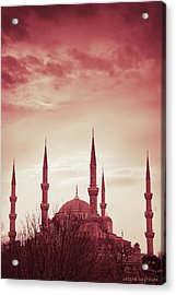 Red Peace Acrylic Print