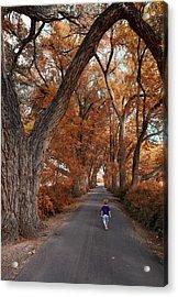 Redhead Fall Walkabout Acrylic Print