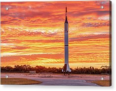 Redstone At Dawn Acrylic Print