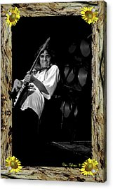 Acrylic Print featuring the photograph Redwood Framed Tb #1 by Ben Upham