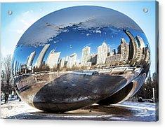 Reflecting Bean Acrylic Print