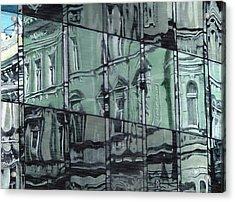 Reflection On Modern Architecture Acrylic Print