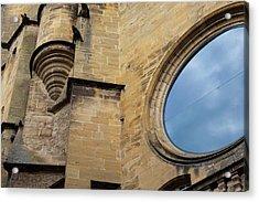 Reflection, Sarlat, France Acrylic Print