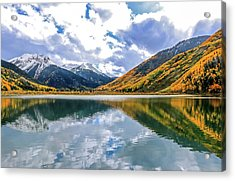 Reflections On Crystal Lake 2 Acrylic Print
