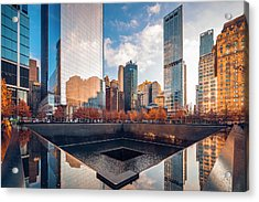 Reflections On History Acrylic Print