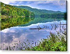 Acrylic Print featuring the photograph Reflections On Sis Lake by David Patterson