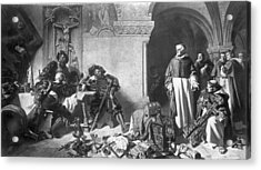 Reformation Plunder Acrylic Print by Rischgitz