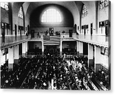 Registry Hall Acrylic Print by Hulton Archive