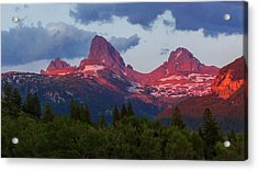 Reliving The Tetons Acrylic Print