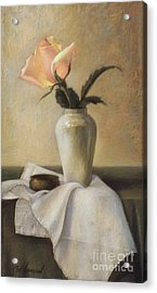 Remembered Rose Acrylic Print by Pat Thompson