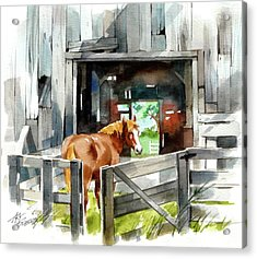Returning Home Acrylic Print by Art Scholz