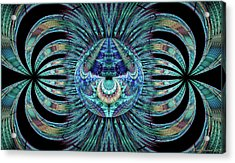 Acrylic Print featuring the digital art Revelation by Missy Gainer