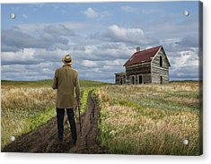 Revisiting The Old Homestead Acrylic Print