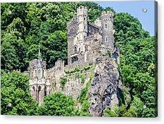 Rheinstein Castle Acrylic Print