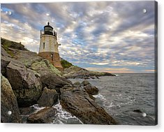Acrylic Print featuring the photograph Rhode Island Castle Hill Lighthouse by Juergen Roth