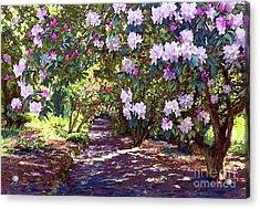 Rhododendron Garden Acrylic Print