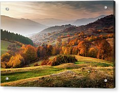 Rhodopean Landscape Acrylic Print by Evgeni Dinev Photography